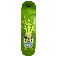 "Welcome Air Dancer Jordan Sanchez Pro Model On Nibiru Skateboard Deck - 8.75"" - Green Stain"