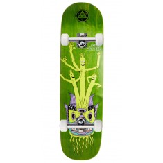 "Welcome Air Dancer Jordan Sanchez Pro Model On Nibiru Skateboard Complete - 8.75"" - Green Stain"