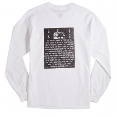 The Killing Floor Pryor Convictions Long Sleeve T-Shirt - White/Black