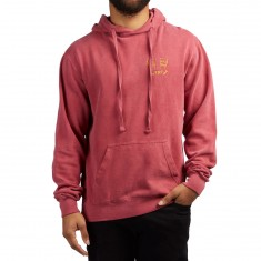 The Killing Floor Aura Hoodie - Burgundy/Mustard