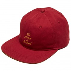 The Killing Floor Other Worlds Script Hat - Burgundy/Mustard