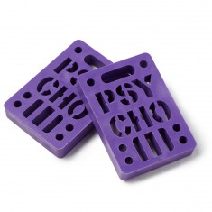 Psycho 2 Pack Risers - Purple