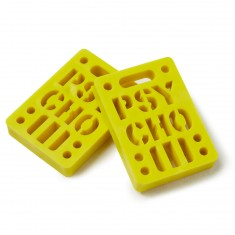 Psycho 2 Pack Risers - Yellow