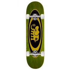 "Black Label Oval Elephant Skateboard Complete - 8.50"" - Green Stain"