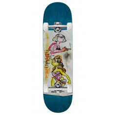 "Krooked Sandoval High Noon Skateboard Complete - 8.25"" - Teal Stain"