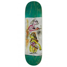"Krooked Sandoval High Noon Skateboard Deck - 8.25"" - Green Stain"