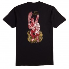 Paisley Krampus T-Shirt - Black