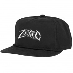 Zero Demon Text Hat - Black