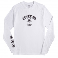 Zero Ransom Note Long Sleeve T-Shirt - White