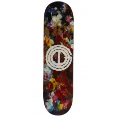 Good Acrylic Palette Skateboard Deck - 8.25""