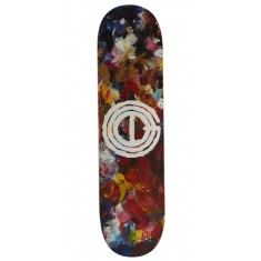 Good Acrylic Palette Skateboard Deck - 8.125""