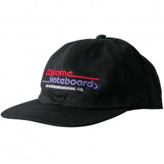 Welcome Interdimensional Snapback Hat - Black