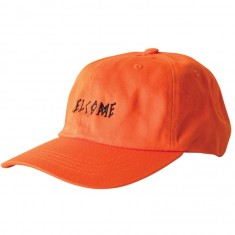 Welcome Scrawl Unstructured Slider Hat - Orange/Black