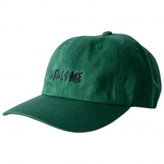 Welcome Scrawl Unstructured Slider Hat - Spruce/Black