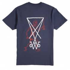 Welcome Candle T-Shirt - Harbor Blue