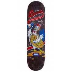 "Real Brock Chicken n' Waffles Skateboard Deck - 8.06"" - Black Stain"