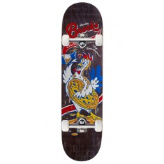 "Real Brock Chicken n' Waffles Skateboard Complete - 8.06"" - Black Stain"