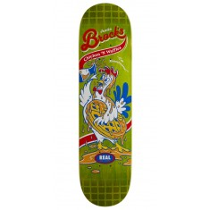 "Real Brock Chicken n' Waffles Skateboard Deck - 8.06"" - Green Stain"