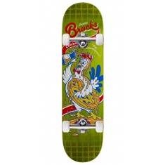 "Real Brock Chicken n' Waffles Skateboard Complete - 8.06"" - Green Stain"