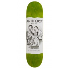 "Anti-Hero Beres Scientific Achievements Skateboard Deck - 8.06"" - Green Stain"