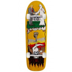 "Real Thiebaud Wrench Justice Skateboard Complete - 9.75"" - Yellow Stain"