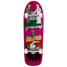 "Real Thiebaud Wrench Justice Skateboard Complete - 9.75"" - Pink Stain"