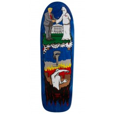 "Real Thiebaud Wrench Justice Skateboard Deck - 9.75"" - Blue Stain"