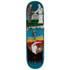 "Real Thiebaud Wrench Justice Skateboard Deck - 8.25"" - Teal Stain"