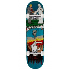 "Real Thiebaud Wrench Justice Skateboard Complete - 8.25"" - Teal Stain"