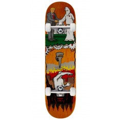 "Real Thiebaud Wrench Justice Skateboard Complete - 8.25"" - Orange Stain"