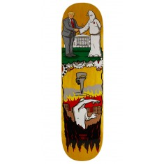 "Real Thiebaud Wrench Justice Skateboard Deck - 8.25"" - Yellow Stain"