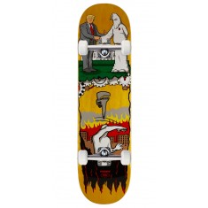 "Real Thiebaud Wrench Justice Skateboard Complete - 8.25"" - Yellow Stain"