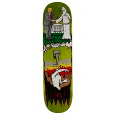 "Real Thiebaud Wrench Justice Skateboard Deck - 8.25"" - Green Stain"