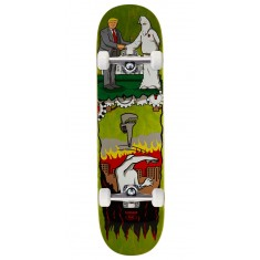 "Real Thiebaud Wrench Justice Skateboard Complete - 8.25"" - Green Stain"