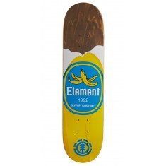 "Element You Are What You Eat Banana Skateboard Deck - 7.875"" - Brown Stain"
