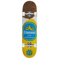 """Element You Are What You Eat Banana Skateboard Complete - 7.875"""" - Brown Stain"""