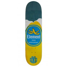 "Element You Are What You Eat Banana Skateboard Deck - 7.875"" - Blue Stain"