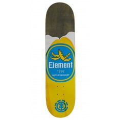 "Element You Are What You Eat Banana Skateboard Deck - 7.875"" - Grey Stain"