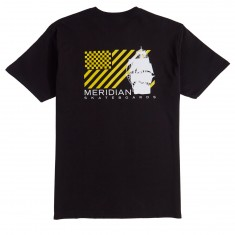 Meridian Pirates T-Shirt - Black