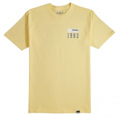 Meridian Checkersandstripes T-Shirt - Gold
