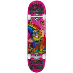 Deathwish Slash Happy Place Skateboard Complete - 8.00""