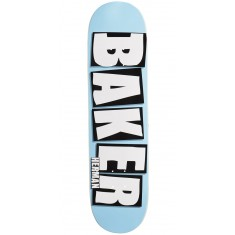 "Baker Herman Brand Name Skateboard Deck - 8.00"" - Baby Blue"