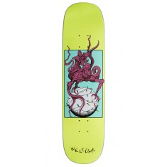 Welcome Demon Prince 2 on Amulet Skateboard Deck - Neon Yellow - 8.125""