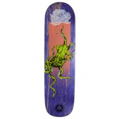 Welcome Bactocat on Big Bunyip Skateboard Deck - Purple Stains - 8.50""