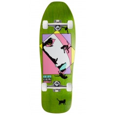Welcome Miller Faces on Sugarcane Skateboard Complete - Green Stain - 10.00""