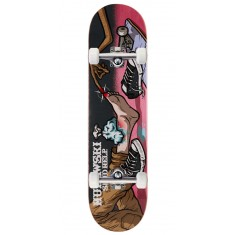 """Send Help Murawski Ouch Skateboard Complete - 8.00"""" - Pink Stain"""