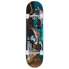 """Send Help Murawski Ouch Skateboard Complete - 8.00"""" - Teal Stain"""