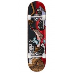 """Send Help Murawski Ouch Skateboard Complete - 8.00"""" - Red Stain"""