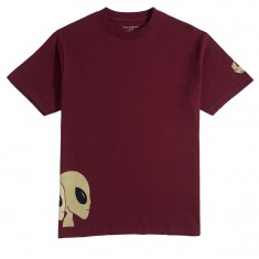 Alien Workshop Strobe T-Shirt - Maroon