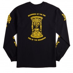No Hours The End Long Sleeve T-Shirt - Black